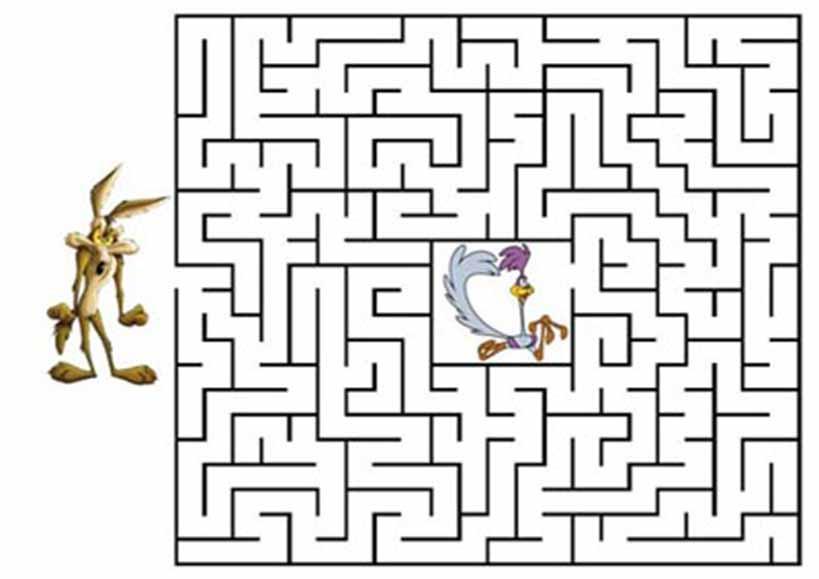Labyrinth zum drucken 1