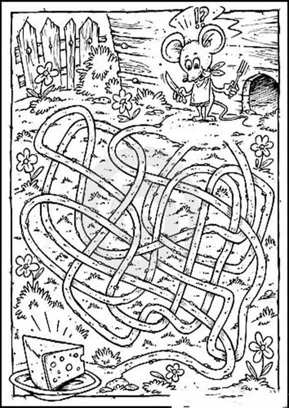 Labyrinth zum drucken 7