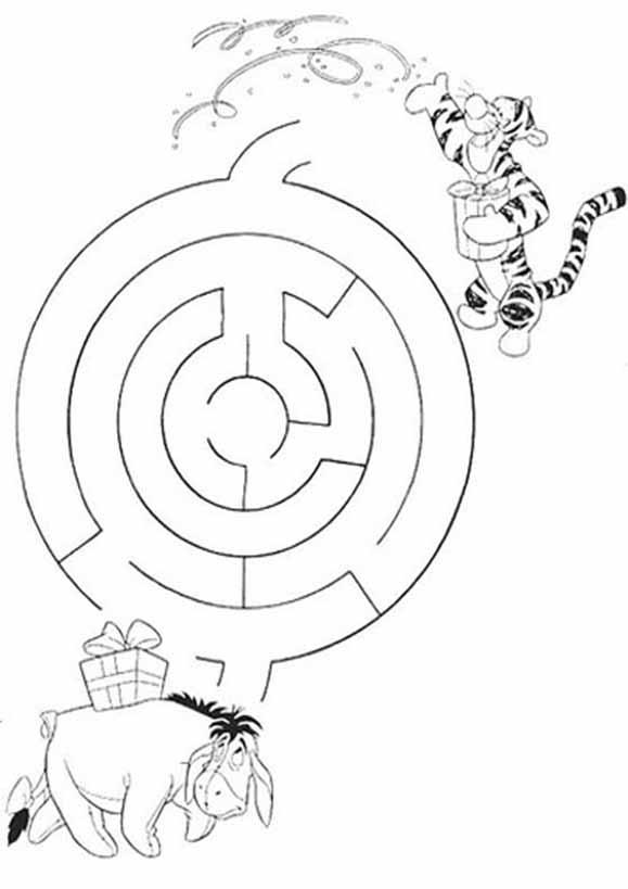 Labyrinth zum drucken 9