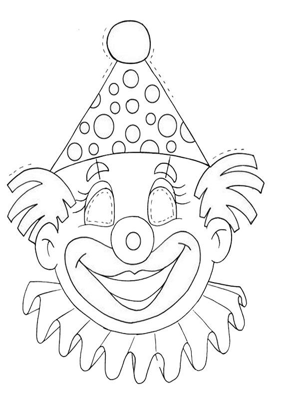 Masken11 | Ausmalbilder und Basteln mit Kindern