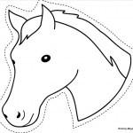 Ausschneiden Pferde 1