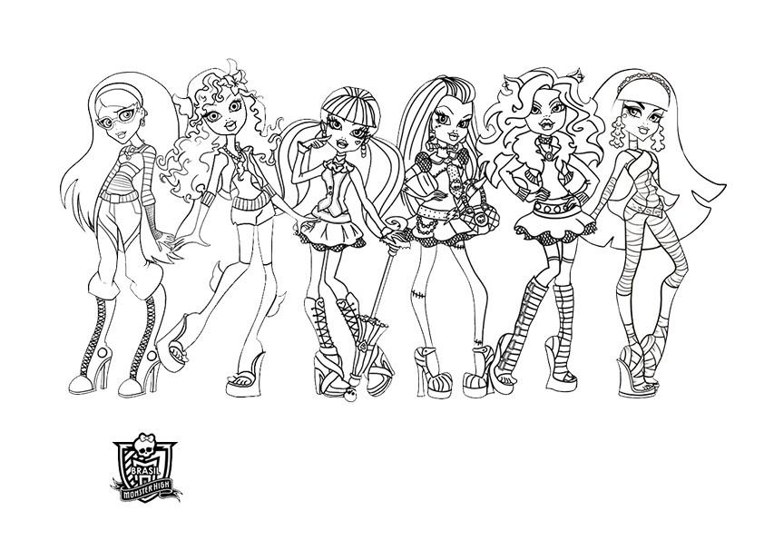 Ausmalbilder Monster High 102 Ausmalbilder Malvorlagen