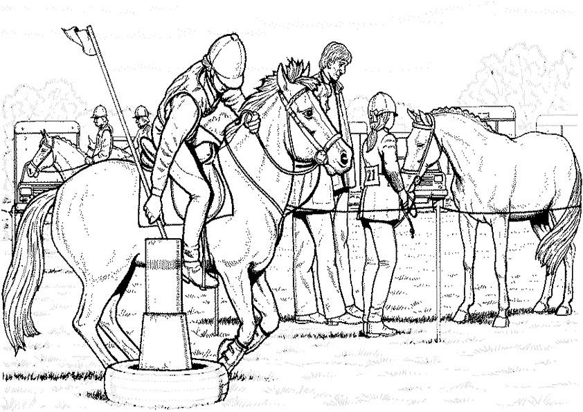 ausmalbilder, malvorlagen, pferde 31 | Ausmalbilder ...