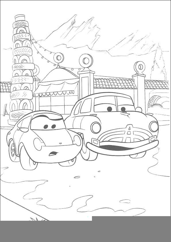 Malvorlagen -Ausmalbilder-Cars