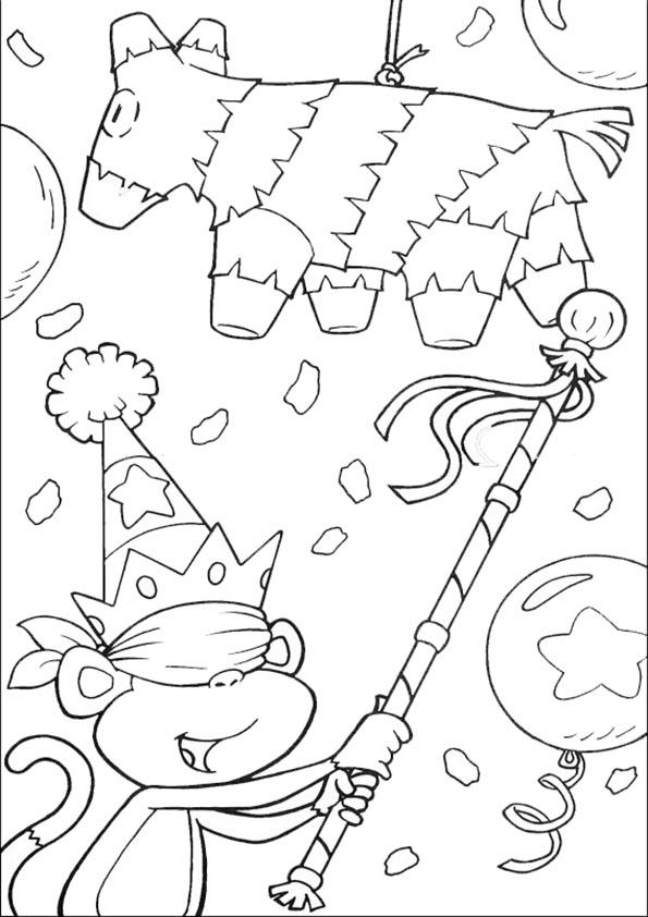 Ausmalbilder- Malvorlagen-Dora-41