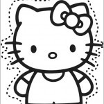 Ausschneiden Hello kitty 1
