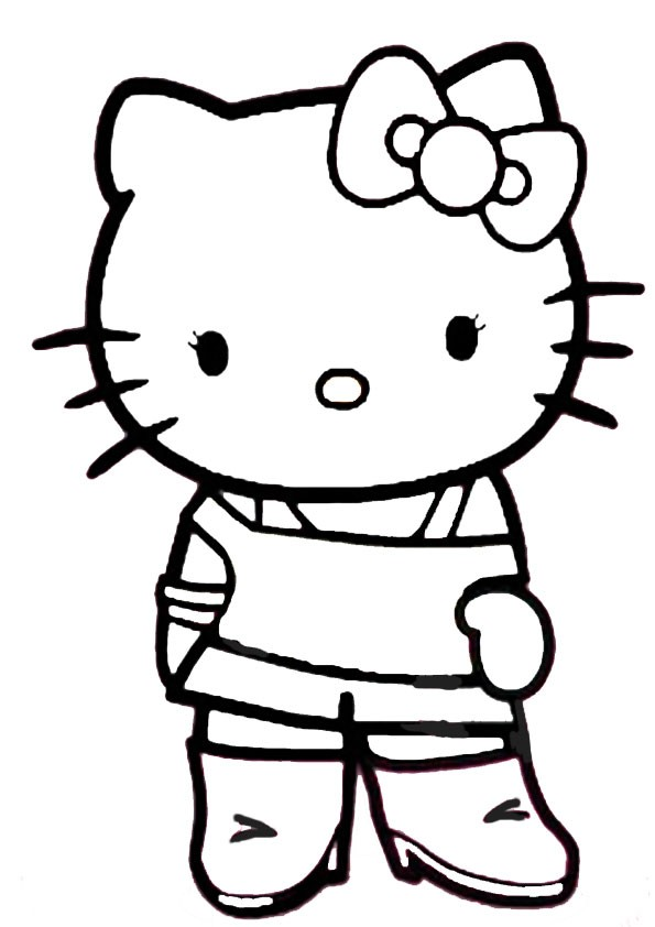 Ausmalbilder hello kitty 28