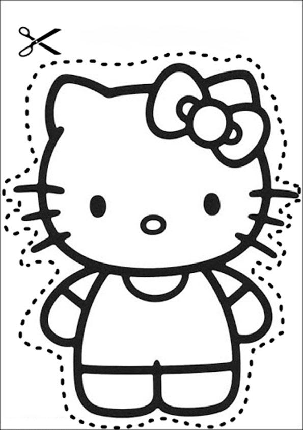 Ausscheiden  Hello kitty