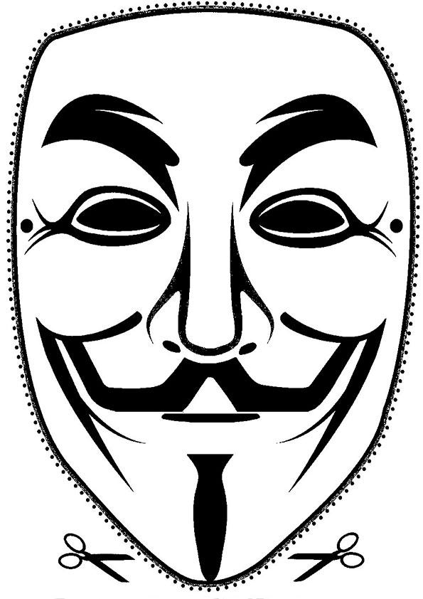 ausmalbilder masken -26 | Ausmalbilder Malvorlagen