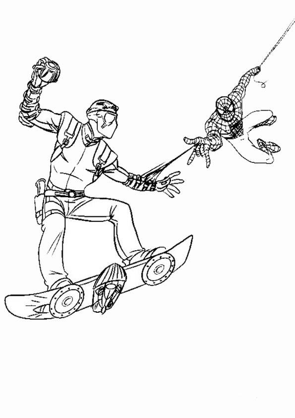 Malvorlagen ,Ausmalbilder, Spiderman-27
