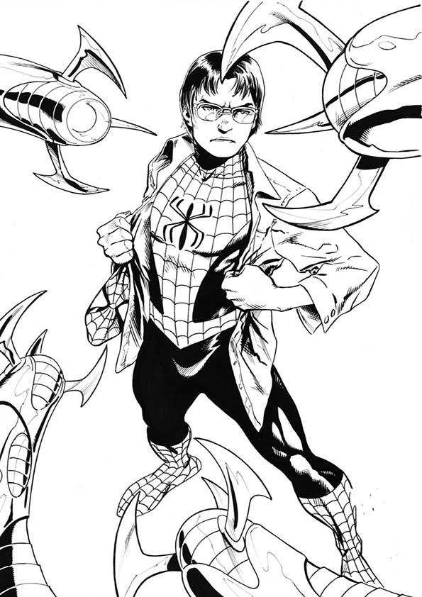 Malvorlagen ,Ausmalbilder, Spiderman-29