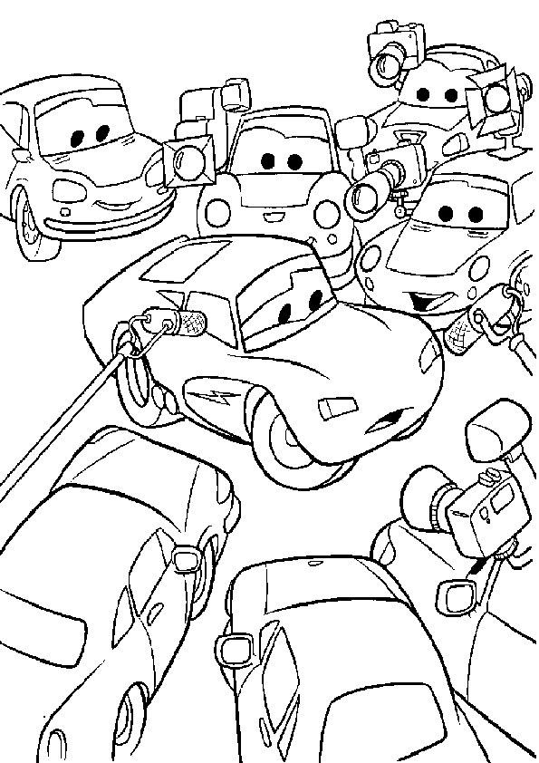 Ausmalbilder Cars 30