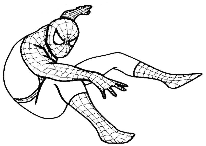 Ausmalbilder Spiderman Lego: Aumalbilder- Malvorlagen- Spiderman