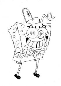 Malvorlagen ,Ausmalbilder, Sponge bob-43