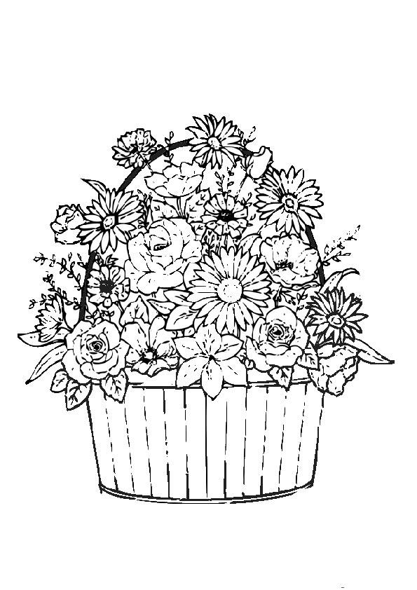 Ausmalbilder Blumen 5 Ausmalbilder Malvorlagen