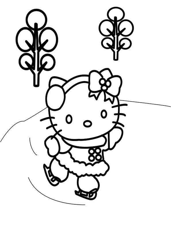 Ausmalbilder Hello Kitty-37