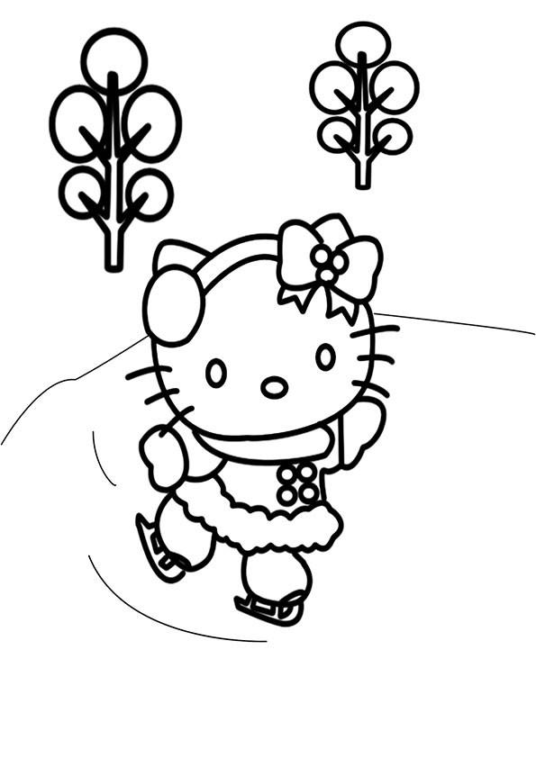 Ausmalbilder Hello Kitty-37