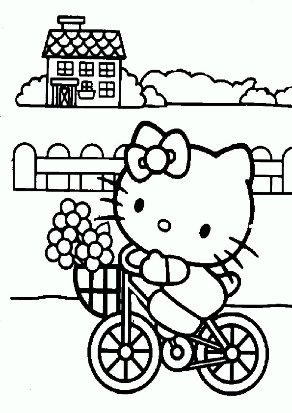 Ausmalbilder Hello kitty 32