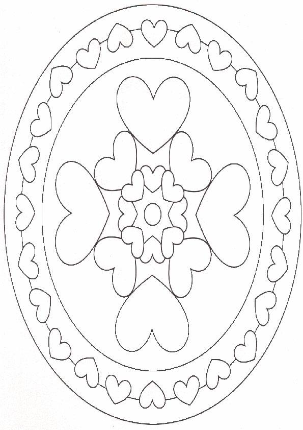Ausmalbilder Mandala 12