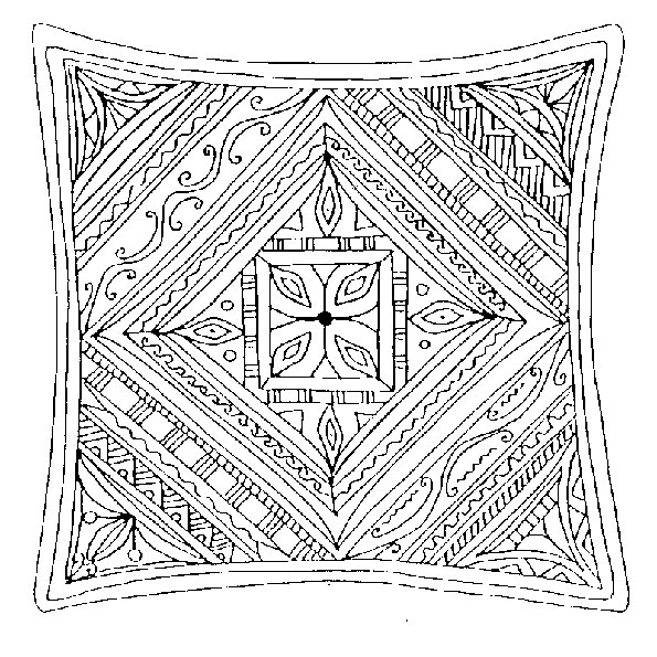Ausmalbilder Mandala 22