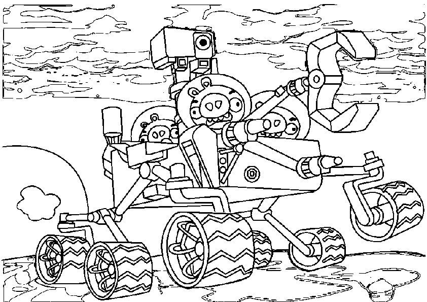 Ausmalbilder Angry Birds 1 Ausmalbilder Malvorlagen