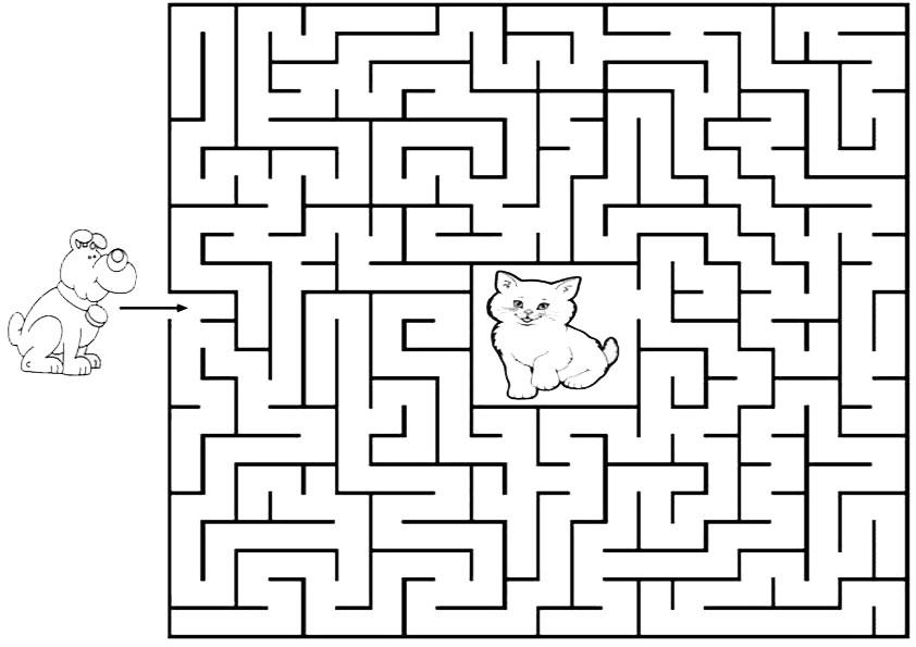 Ausmalbilder--Labyrinthe-18