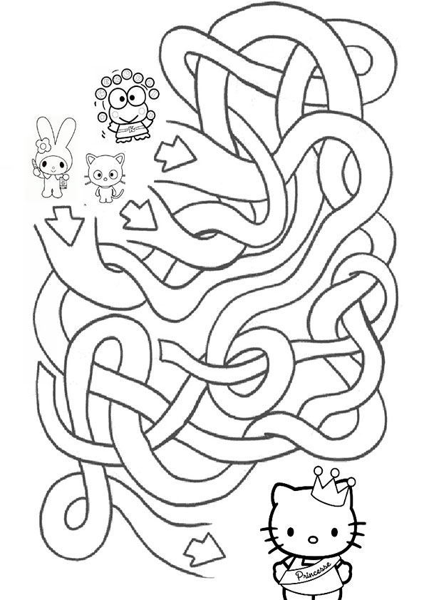 Ausmalbilder--Labyrinthe-30