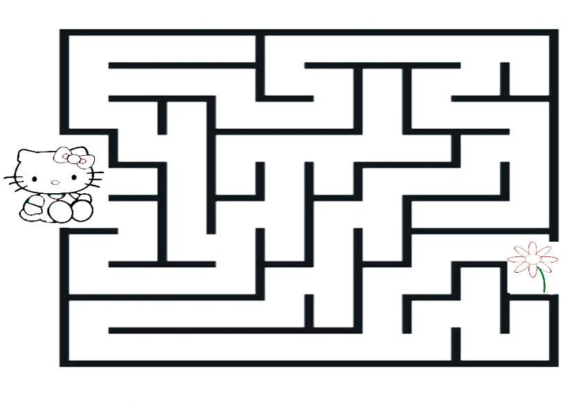 Ausmalbilder--Labyrinthe-32