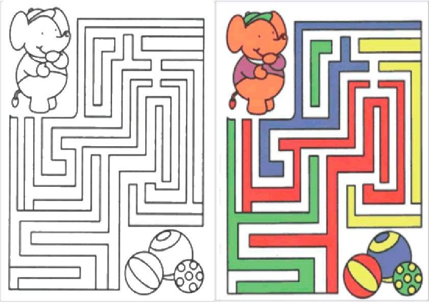 Ausmalbilder--Labyrinthe-34
