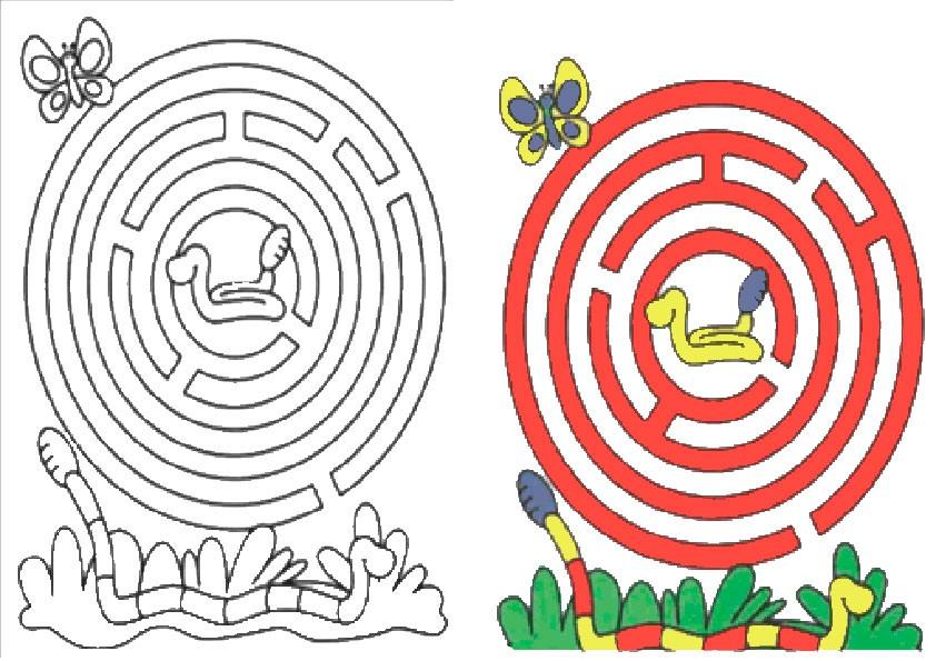 Ausmalbilder--Labyrinthe-35