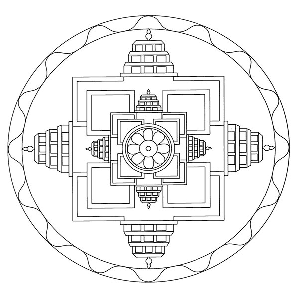 Ausmalbilder-Mandala31