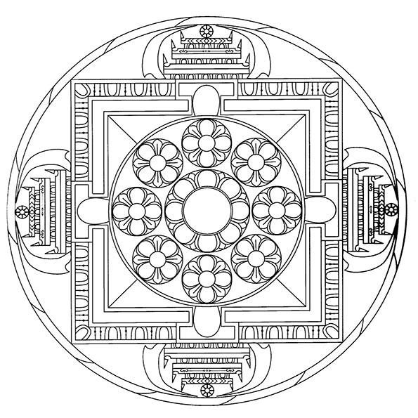 ausmalbilder mandala-37 | ausmalbilder malvorlagen