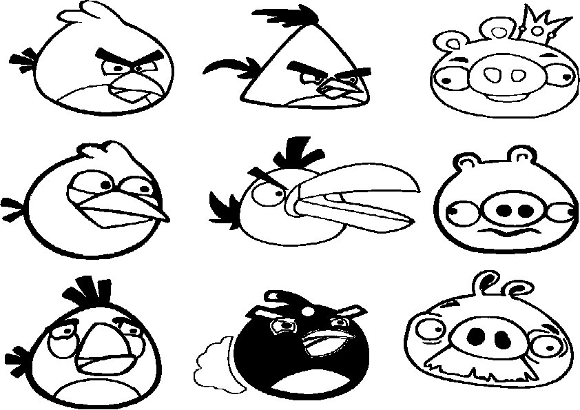 Ausmalbilder  Angry-birds-1