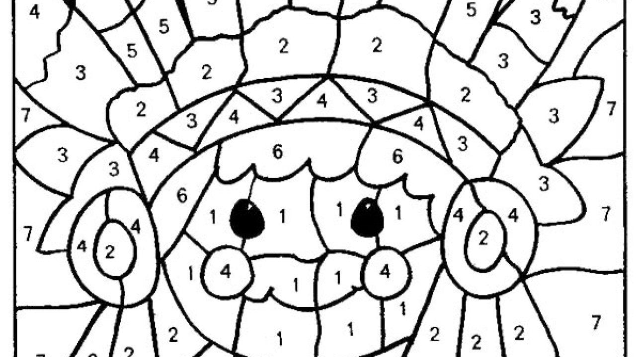 Ausmalbilder Malen Nach Zahlen 50 Ausmalbilder Malvorlagen
