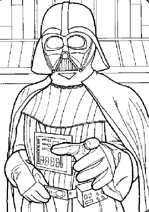 Ausmalbilder Star Wars-14
