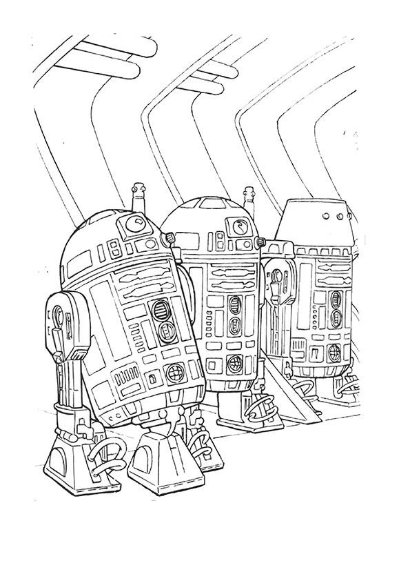 Ausmalbilder Star Wars-22