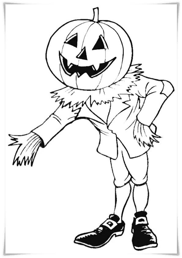 Ausmalbilder Halloween-2