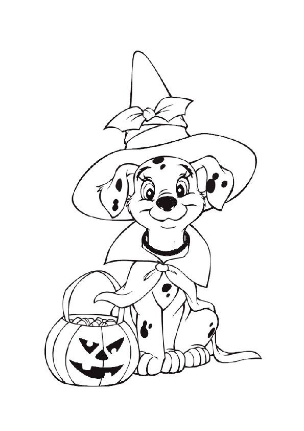 Ausmalbilder Halloween-21