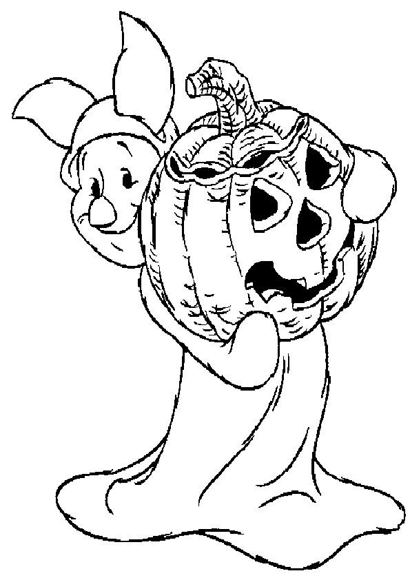 Ausmalbilder Halloween-23