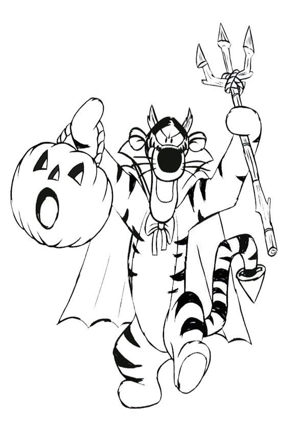 Ausmalbilder Halloween-27