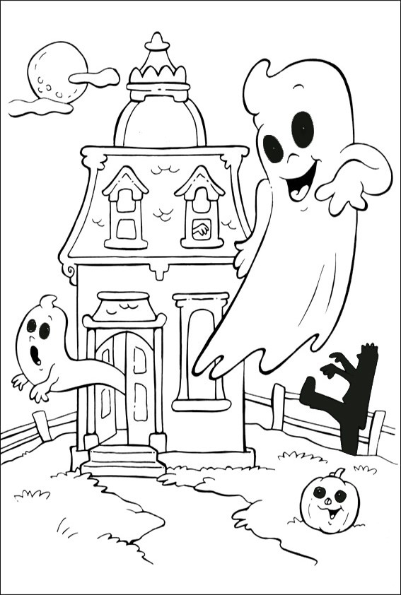 Ausmalbilder Halloween-31