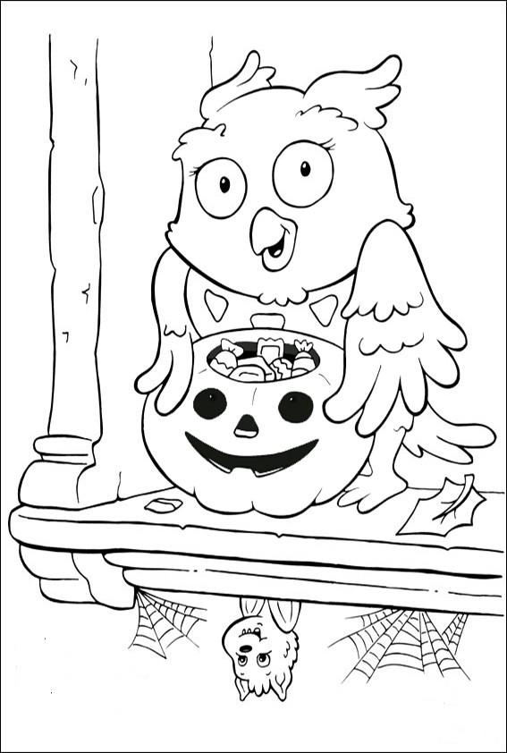 Ausmalbilder Halloween-34