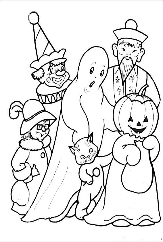 Ausmalbilder Halloween