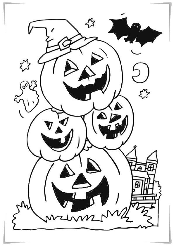 Ausmalbilder Halloween-4