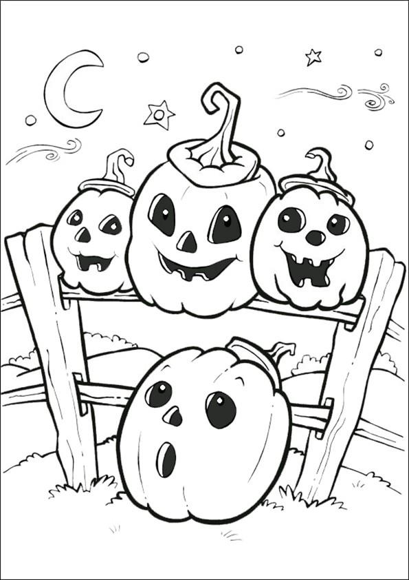 Ausmalbilder Halloween-5