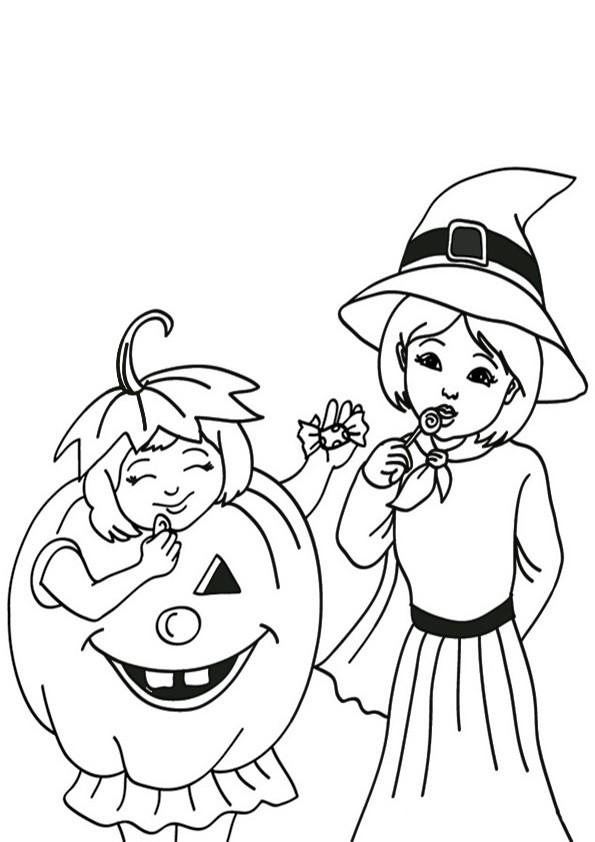 Ausmalbilder Halloween-6
