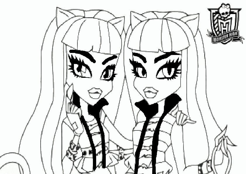 Ausmalbilder Monster High 107 Ausmalbilder Malvorlagen