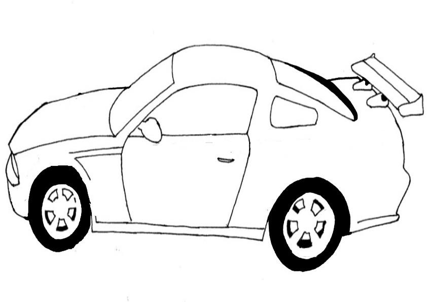 Ausmalbilder Auto-7
