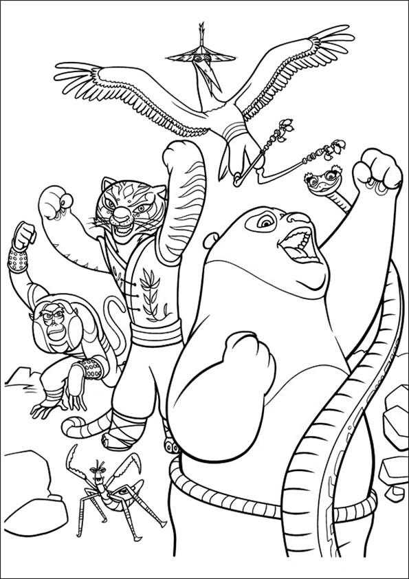 Ausmalbilder--Kung-Fu-Panda-15