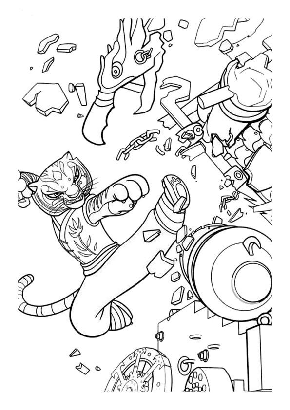 Ausmalbilder--Kung-Fu-Panda-20